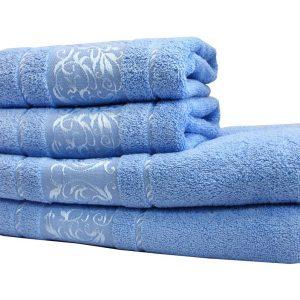 Махровое полотенце Ottoman голубое