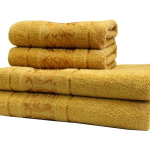 купить Махровое полотенце Ottoman желтое
