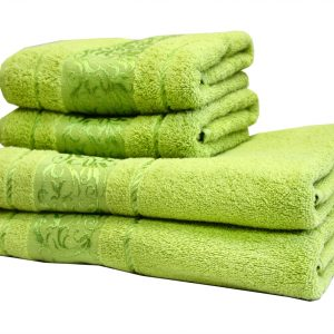 купить Махровое полотенце Ottoman зеленое