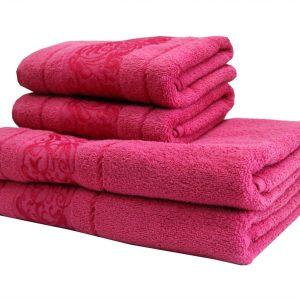 купить Махровое полотенце Ottoman роза