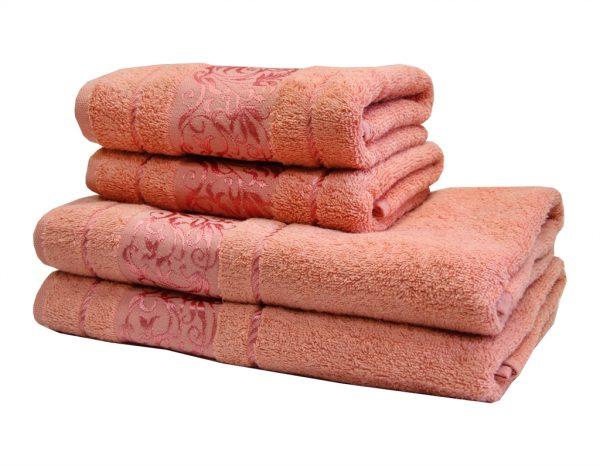 купить Махровое полотенце Ottoman розовое