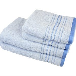 купить Махровое полотенце Pacific голубое