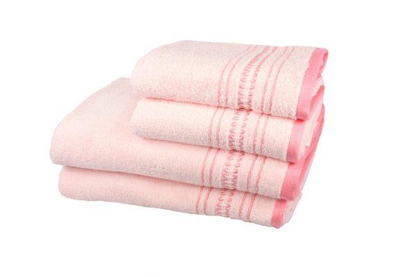 купить Махровое полотенце Pacific розовое