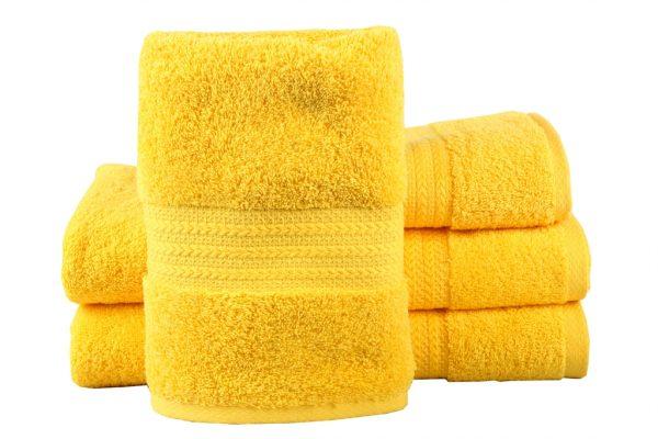 купить Махровое полотенце RAINBOW желтое