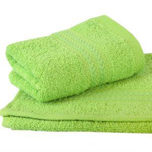 купить Махровое полотенце RAINBOW зеленое