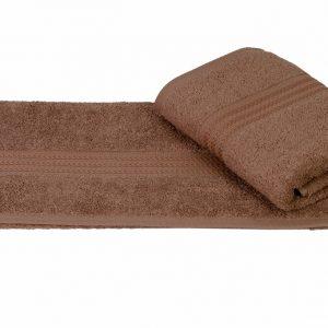 купить Махровое полотенце RAINBOW коричневое