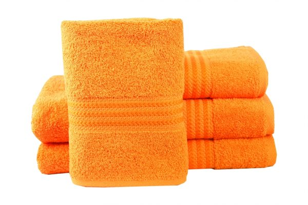 купить Махровое полотенце RAINBOW оранжевое