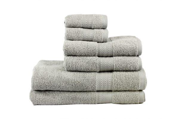 купить Махровое полотенце RAINBOW серое