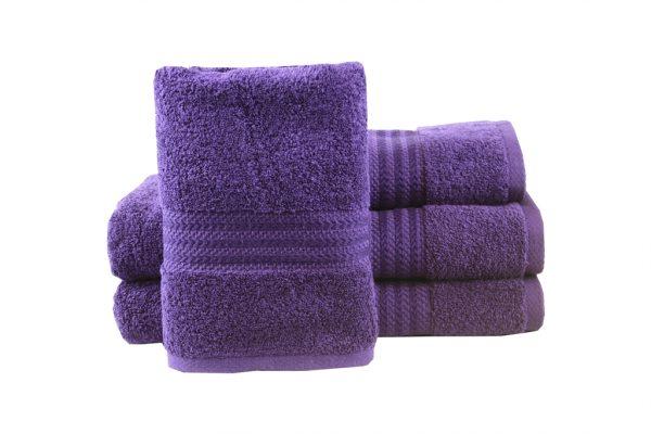 купить Махровое полотенце RAINBOW фиолетовое