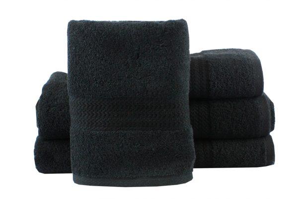 купить Махровое полотенце RAINBOW черное