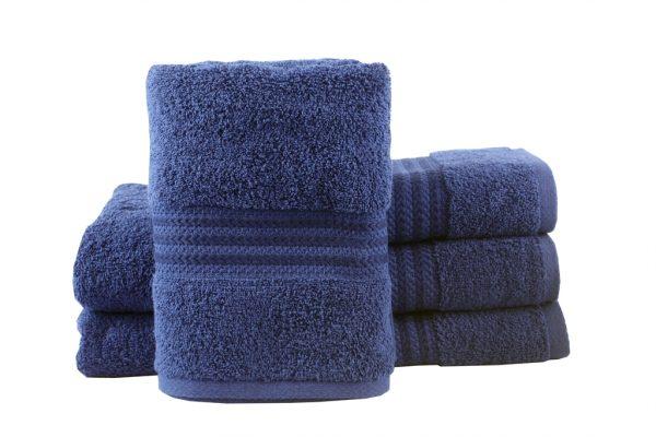 купить Махровое полотенце RAINBOW 50x90см синее