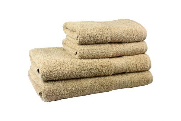 Махровое полотенце RAINBOW 50×90см beg