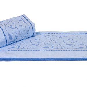 купить Махровое полотенце Sultan голубое