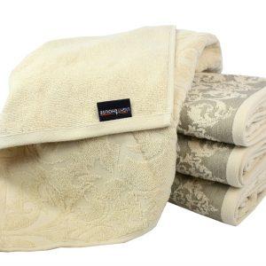 Махровое полотенце Supreme кремовое