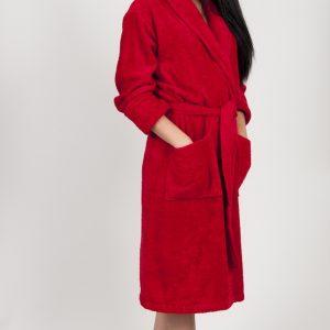 купить Махровый халат TAC Maison 3d Красный