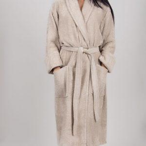 купить Махровый халат TAC Maison 3d S.Kahve