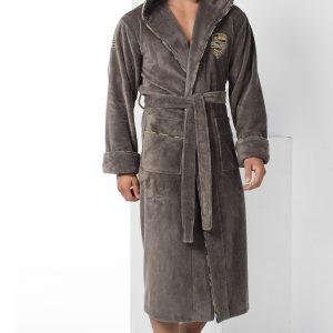 купить Мужской халат Nusa ns 2870 хаки m013338