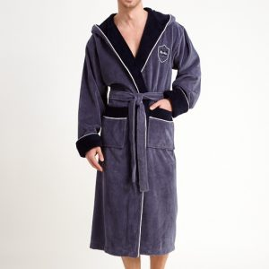 купить Мужской халат Nusa ns 7160  серый m004981