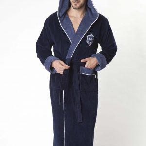 купить Мужской халат Nusa ns 7160  синий m005347