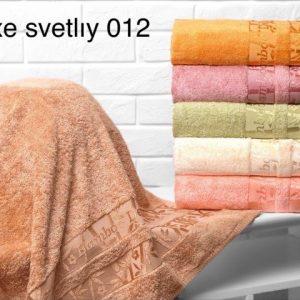 Набор из 6-ти махровых полотенец ТМ Hanibaba бамбук лайт deluxe svetliy