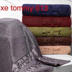 Набор из 6-ти махровых полотенец ТМ Hanibaba бамбук лайт deluxe temniy