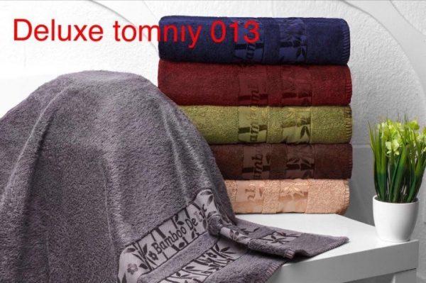 купить Набор из 6-ти махровых полотенец ТМ Hanibaba бамбук лайт deluxe temniy