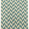 купить Набор ковриков в ванную Solo Krem Mavi Zigzag 40x60|60x90 34273