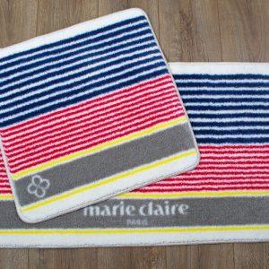 Набор ковриков для ванной Marie Claire – Stripe multi 57×57|57×100