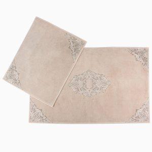 купить Набор ковриков Arya 60x100 с гипюром Marlow Бежевый