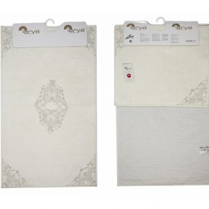купить Набор ковриков Arya 60x100 с гипюром Marlow Кремовый