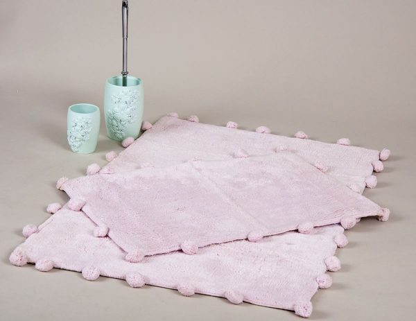 купить Набор ковриков Irya - Alya pembe розовый 60x90 40x60