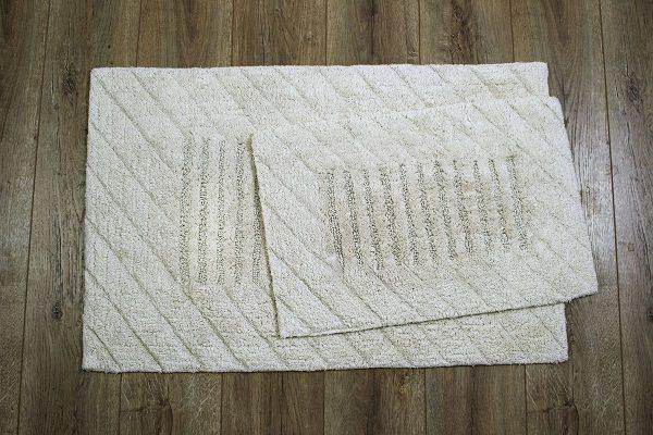 купить Набор ковриков Irya - Avis bej бежевый 60x90 40x60