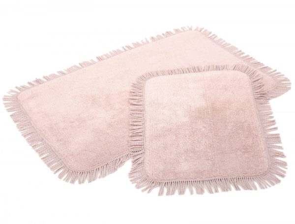 купить Набор ковриков Irya - Axis pembe розовый 60x90 40x60