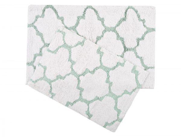 купить Набор ковриков Irya - Bali aqua 50x80|45x60