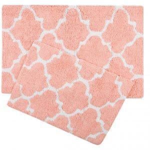 купить Набор ковриков Irya - Bali narcicegi персиковый 50x80|45x60