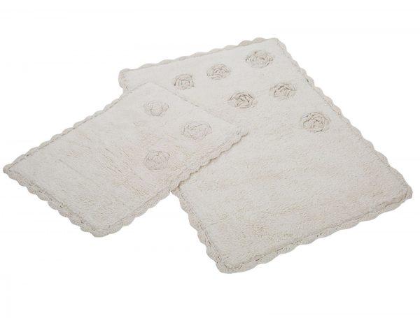 купить Набор ковриков Irya - Blossom krem кремовый 60x90|40x60
