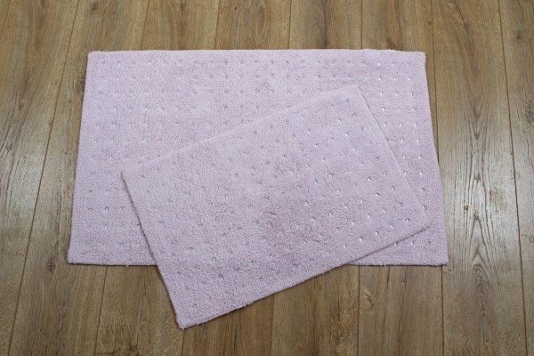 купить Набор ковриков Irya - Esta pembe розовый 40x60|55x85