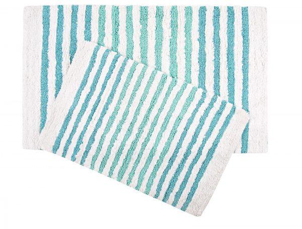 купить Набор ковриков Irya - Grenada mavi голубой 55x80 70x115