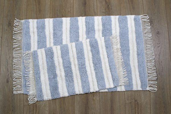 купить Набор ковриков Irya - Jami mavi голубой 60x90|40x60