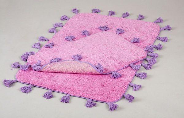 купить Набор ковриков Irya - Joy pembe розовый 60x90|40x60