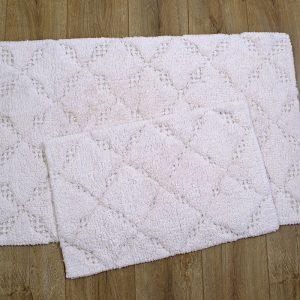 Набор ковриков Irya – Lois seftali персик 60×90|40×60