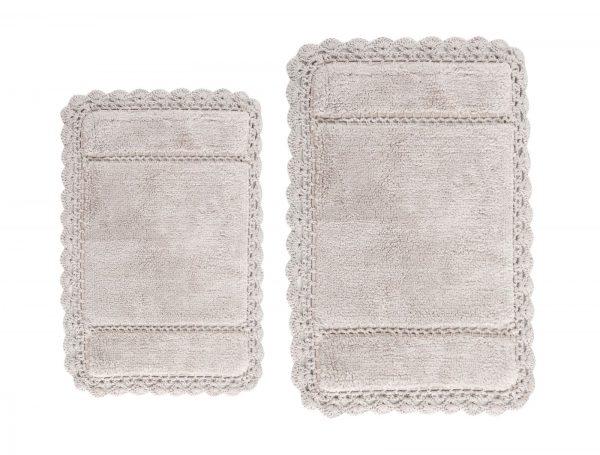 купить Набор ковриков Irya - Lorinda bej бежевый 60x90 40x60