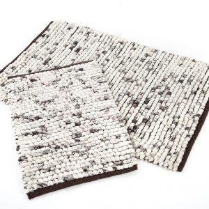 Набор ковриков Irya – Ottova kahve кофе 60×90|40×60