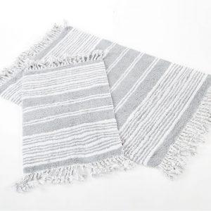 Набор ковриков Irya – Relax gri серый 60×90|40×60