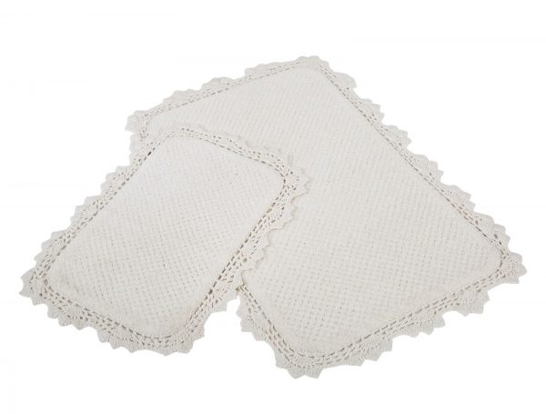 купить Набор ковриков Irya - Serra ekru кремовый 60x90|40x60