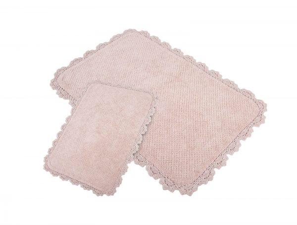 купить Набор ковриков Irya - Serra pembe розовый 60x90 40x60