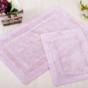 Набор ковриков Irya – Superior lila лиловый 60×90|40×60