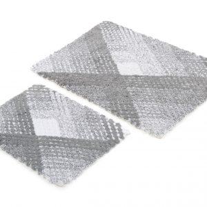 Набор ковриков Irya – Wall gri серый 60×90|40×60