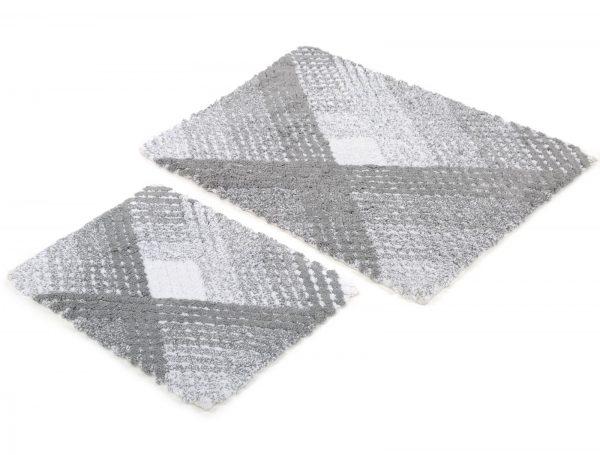 купить Набор ковриков Irya - Wall gri серый 60x90|40x60