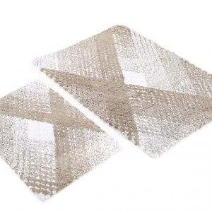 Набор ковриков Irya – Wall kahve кофе 60×90|40×60